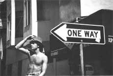 С.Скляров. One way (Сан-Франциско). 1994